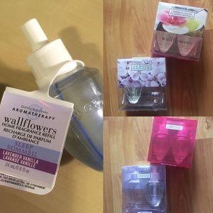 4x Slatkin & Co. Wallflower Fragrance Bulbs